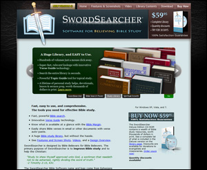 Bible Software at SwordSearcher.com